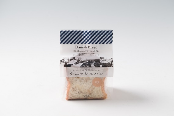 ANDE デニッシュ食パン 紅茶デニッシュ ハーフ(3枚切り)