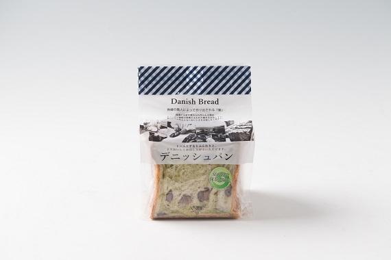 ANDE デニッシュ食パン 抹茶大納言デニッシュ ハーフ(3枚切り)