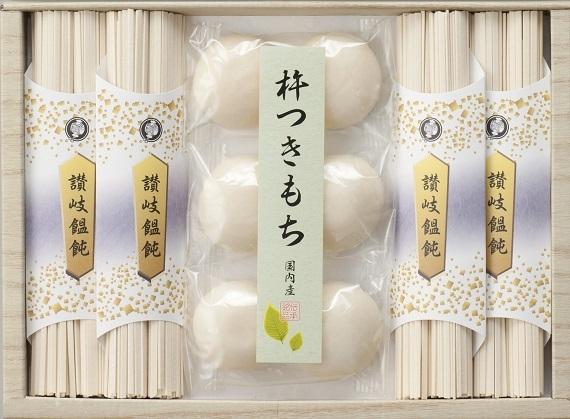 味の宝箱 讃岐饂飩とお餅のセットCS−20【そば・うどん・麺類】