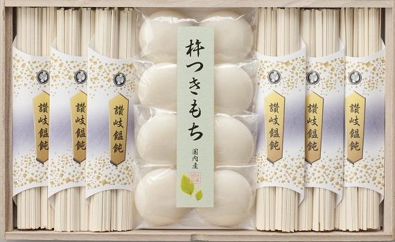 味の宝箱 讃岐饂飩とお餅のセットCS−30【そば・うどん・麺類】