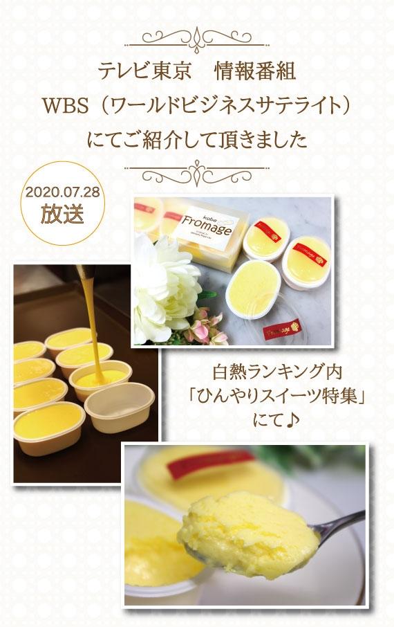 テレビ東京 WBS(ワールドビジネスサテライト)にてご紹介頂きました♪【神戸口どけフロマージュ】5個入り フランス産・北海道十勝産の高級クリームチーズを贅沢に使用!チーズ好き