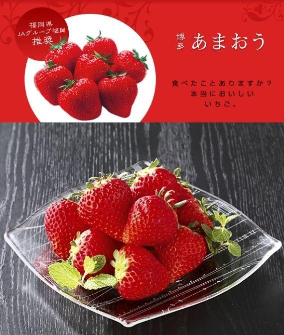 「博多あまおう」(バスケット入り)「博多あまおう」は、福岡が誇るいちごの王様。)ふるさと物産品【お歳暮2020】【フルーツ】発送は12月上旬から。