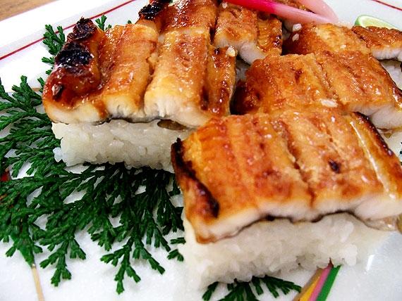 瀬戸内名物 天然焼あなご押し寿司