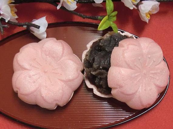 桜型(ふる里)最中(バラ1個)