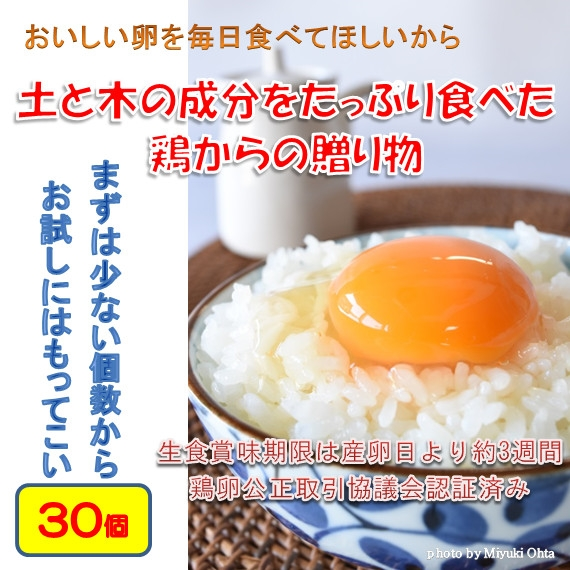 たまご (ブランド卵「満月」) 鶏卵30個