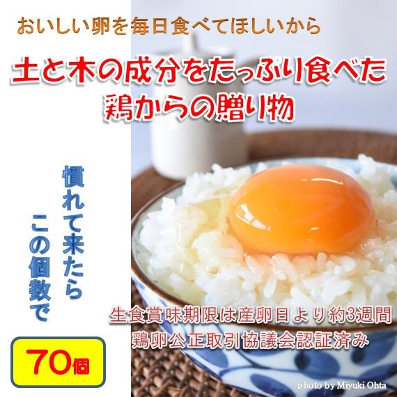 たまご (ブランド卵「満月」) 鶏卵70個