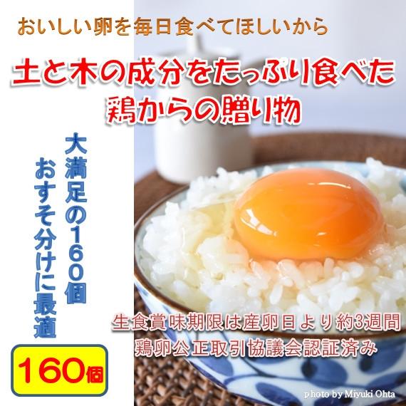 たまご (ブランド卵「満月」) 鶏卵160個