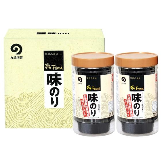 味のり8切40枚(板のり5枚)2本入【AG-2本詰】【乾物・缶詰・瓶詰・調味料】