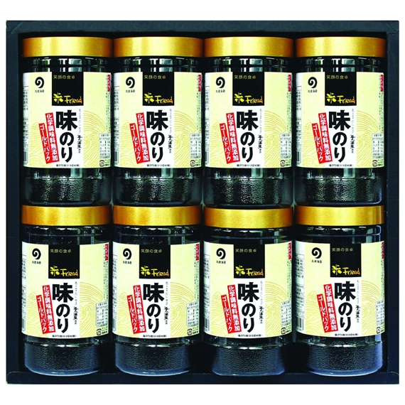 味のり8切40枚(板のり5枚)8本入【AG-36】【乾物・缶詰・瓶詰・調味料】