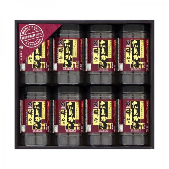 【お歳暮・お中元・手土産・ご贈答に】ザ・広島ブランド認定「広島かき味のり」8本セット もみじ-40R【乾物・缶詰・瓶詰・調味料】