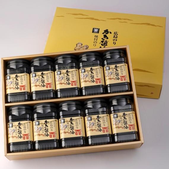 かき醤油味付のり10本入【お中元2020】【乾物・缶詰・瓶詰・調味料】