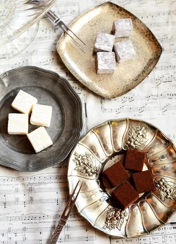 【生チョコ】3種の贅沢な味を楽しめる 「パベ・ド・トラム]【チョコ・スイーツ】