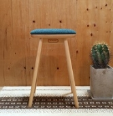 スツール Friendly!! coupe kitchen stool【オーシャンブルー】[SC338-1S58]