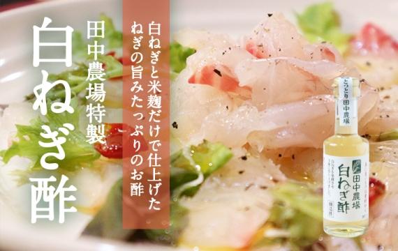 【特製】白ねぎ酢 180ml【白ねぎと米麹だけで仕上げたねぎの旨みたっぷりのお酢】