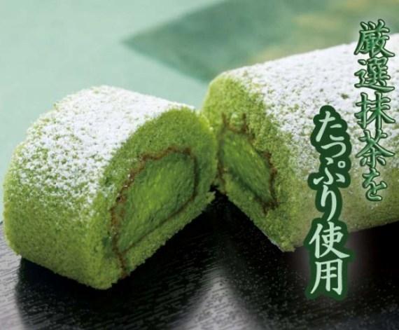 厳選抹茶をたっぷり使用!日本茶専門店の抹茶ロールケーキ
