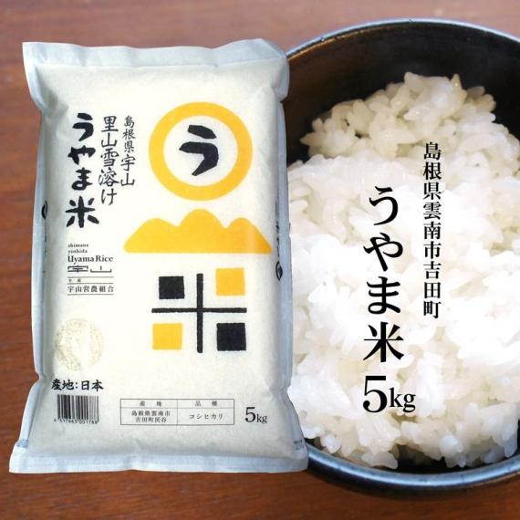 令和2年産 島根県雲南市吉田町『うやま米』5kg【米・野菜・惣菜】