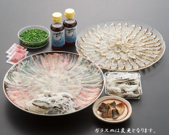 【送料込】  とらふく刺身・味くらべセット FK-0200