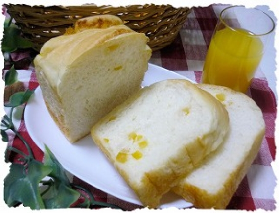 無添加!さっぱり!柚子食パン