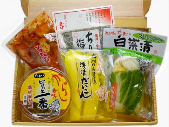 【送料無料】あじわいお漬物セット【お歳暮2020】【米・野菜・惣菜】