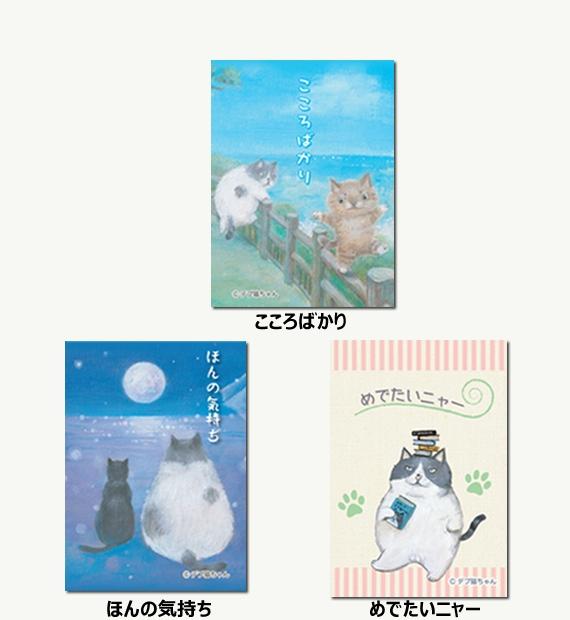 <47CLUB>デブ猫ちゃんポチ袋 お得な全3種セット