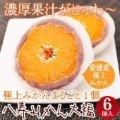 テレビ「王様のブランチ」で紹介されたうにまんじゅうの田村菓子舗の『八寿みかん大福』です。