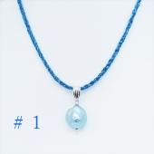 テレビ「フォーカス徳島」で紹介されたジュエリー・アプローズの『藍パール商品各種』です。