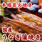 テレビ「バナナマンのせっかくグルメ!!」で紹介された本池澤の『炭火焼き 国産うなぎ蒲焼き』です。