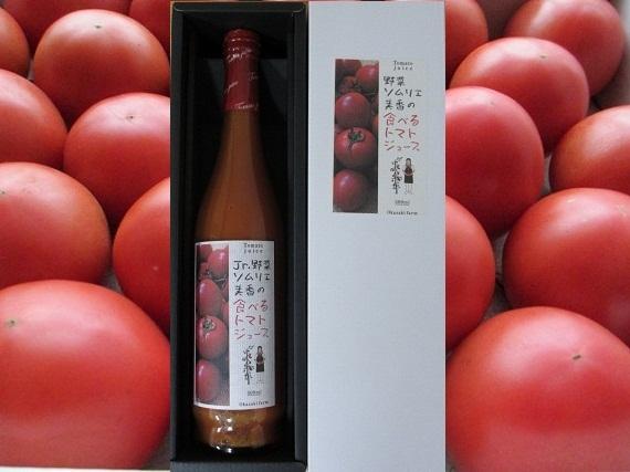 おかざき農園 野菜ソムリエ美香の食べるトマトジュース500ml