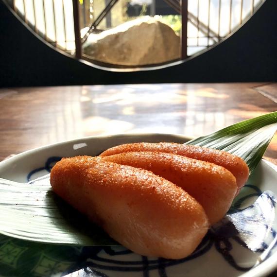 あき津゛ 天然だし明太子「極附」〜きわめつけ〜 180グラム【漬魚・魚加工品 【2021 お中元】