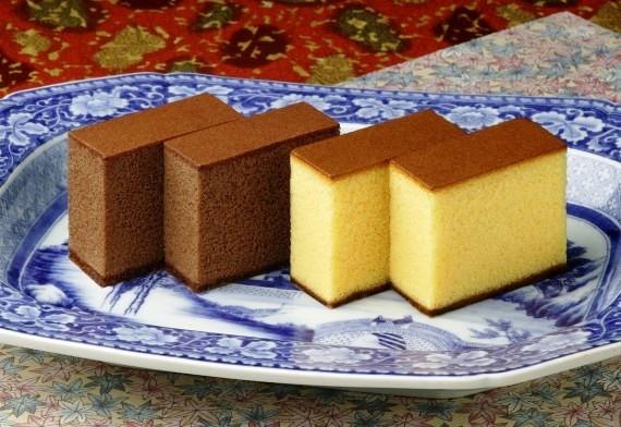 カステラ、チョコラーテ詰合せ各0.6号・各1本