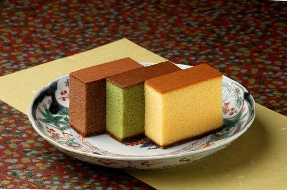 カステラ・チョコラーテ・抹茶カステラ詰合せ0.6号・5本
