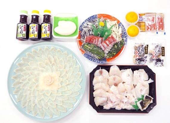 【送料無料】 豊後とらふぐ料理セット6人前 【大分県産】【お中元2020】【鮮魚・魚介類】